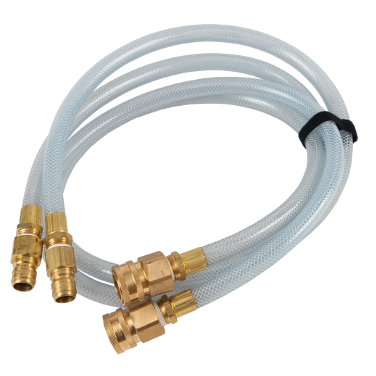 Tank parts and other water tester equipment available throug Hose Monster like this Dechlor Demon Extension Hose.