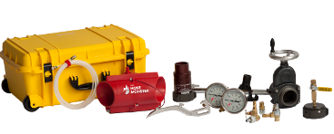 See the entire list of equipment and get all of the details about what comes with the Hydrant Flow Testing Bundle