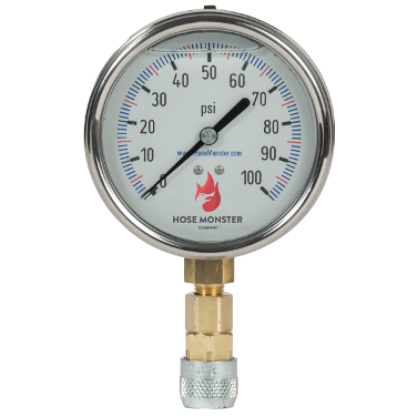 Maintain an accurate flow rate with the 4-inch analog flow rate gauge you can purchase here from Hose Monster.