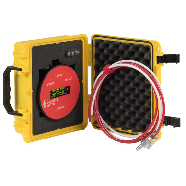 Hose Monster has this Monster meter differential gauge kit complete with a yellow carrying case for convenience.