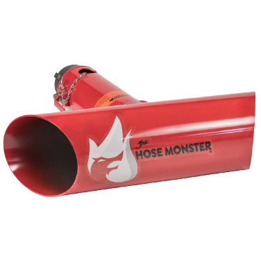 View the Hose Monster 2.4 inch Hose Monster to cancel the thrust of high velocity water flow with a built-in pitot.