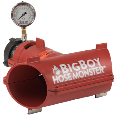Hose Monster provides the BigBoy water flow tester to test the pressure of water mains of all kinds available here.
