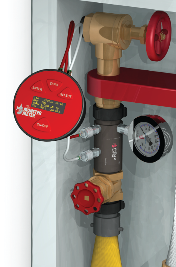 Get information about how to attach the Hose Monster In-Line Pitotless Nozzle with a 1.5 inch Connection.