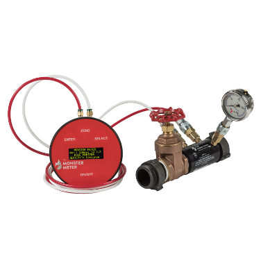 Hose Monster offers this 1.5 inch pitotless nozzle connection for hoses and use by fire departments.