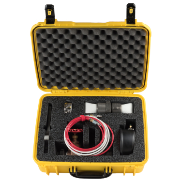 Get the Hose Monster In-Line Pitotless Nozzle with a 1.5 inch Connection along with a carrying case.