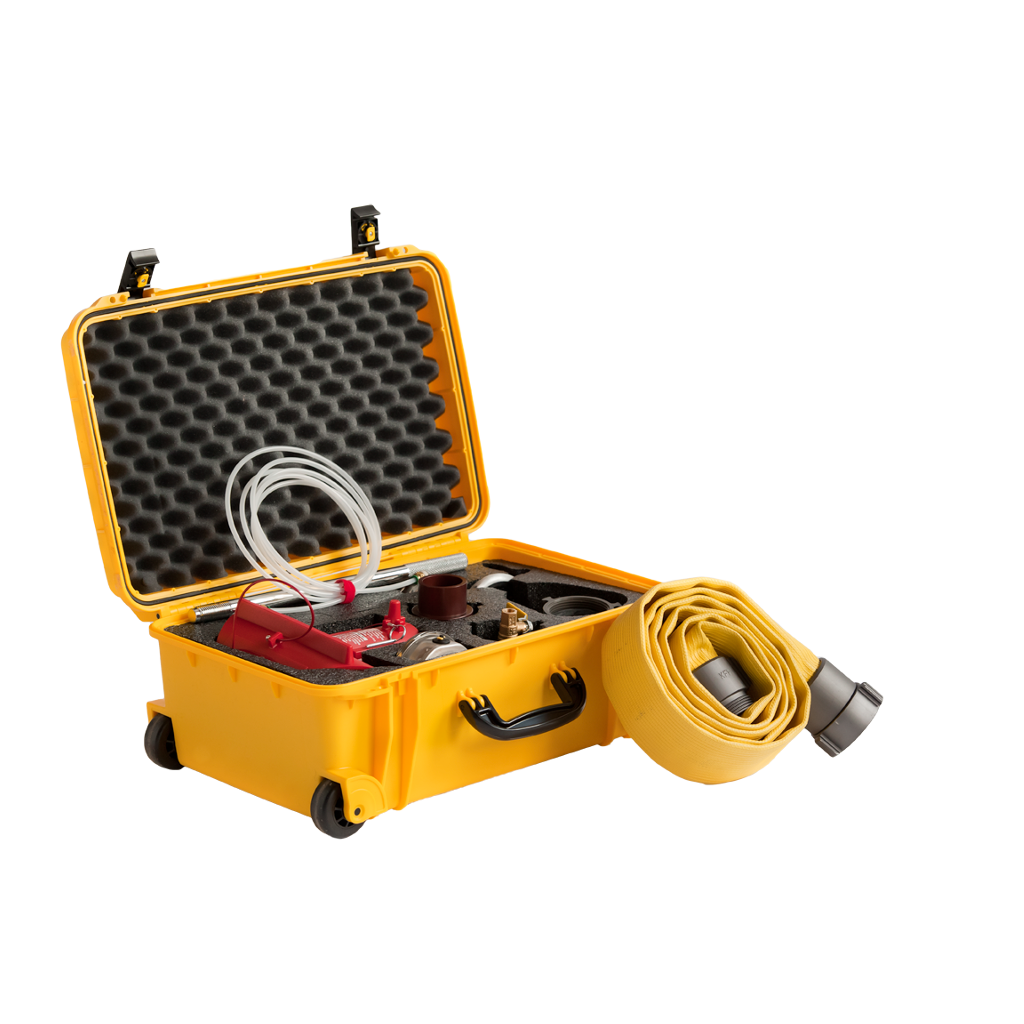 Find information and purchase the Hose Monster hydrant flow testing building available here.