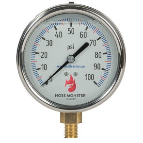 Hose Monster has gauges and equipment for water systems such as these 4-inch pump room gauges available here.