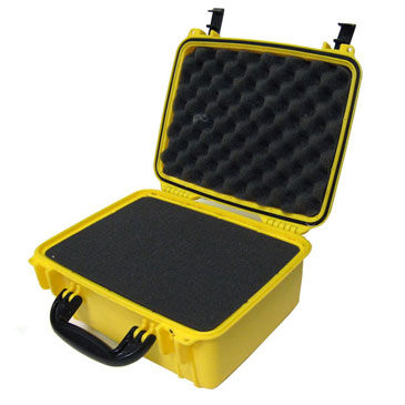 Hose Monster has all of the products you need to keep gauges and nozzles safe such as this yellow protective equipment case.