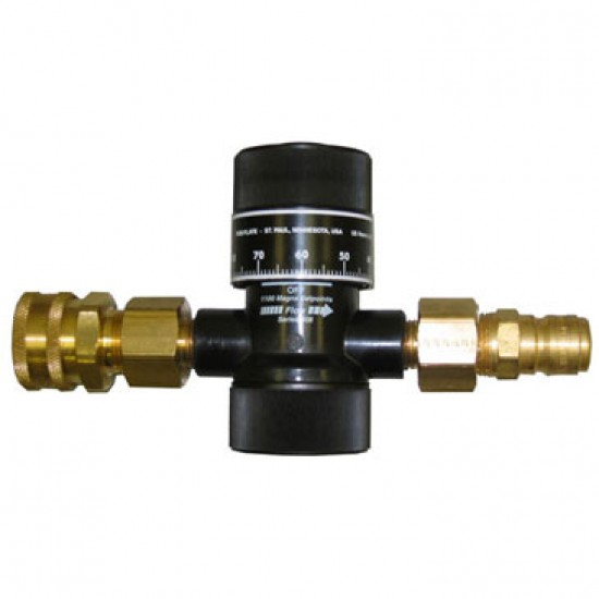 Control bypass flow with precision using this indicating bypass valve available for purchase from Hose Monster.