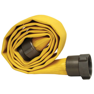 """Maximum durability and flow with minimal friction loss get this 2 ½"""" thru-the-weave extruded rubber hose from Hose Monster."""