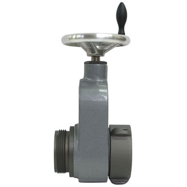 View the Hose Monster 2.5 inch wide slow close gate valve best used for fire hydrant testing.